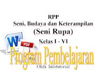 Program Pembelajaran RPP KTSP SBK Kelas 1, 2, 3, 4, 5, Dan 6 2016
