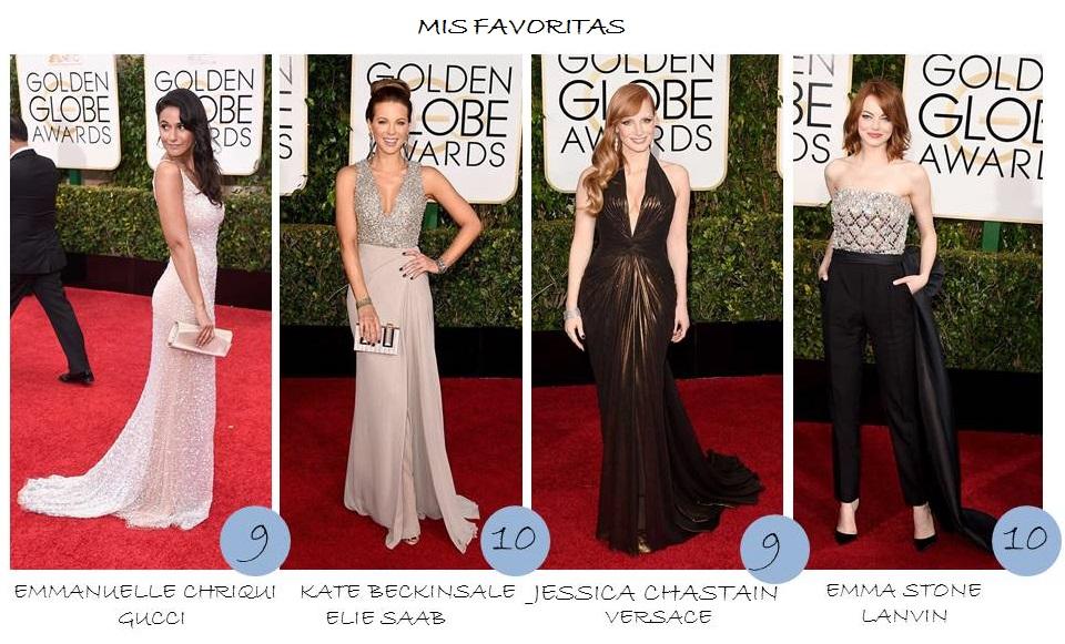 OnlyNess Golden Globes 2015 red carpet Globos de oro 2015