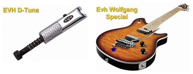 Sistema, Accesorio o Dispositivo EVH D-Tuna para Guitarra