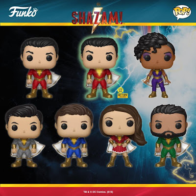 SHAZAM! Movie Pop! DC Comics Vinyl Figures by Funko