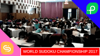 This video captures World Sudoku Championship 2017 last moments