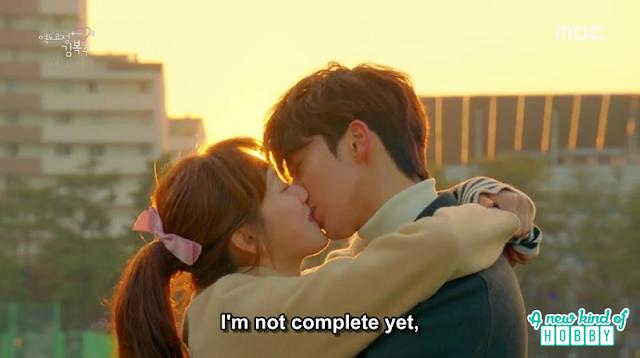 joon hyung and bok joo kiss - Weightlifting Fairy Kim Bok Joo: Episode 16 Finale