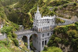 Las Lajas Sanctuary; Nariño, Colombia
