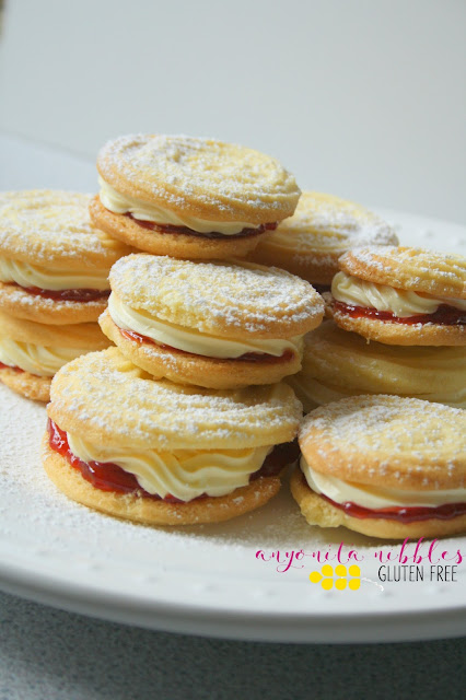 Gluten-free Viennese Whirl Cookies | Anyonita Nibbles Gluten-Free