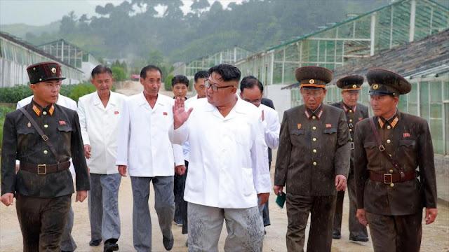 """Kim denuncia las """"bandidescas"""" sanciones impuestas a Pyongyang"""