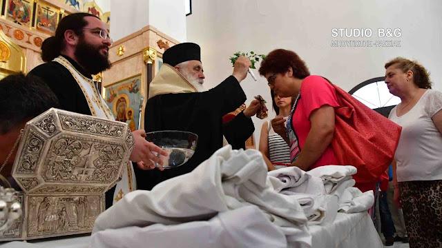 Εσπερινός και Αγιασμός για τους Λειτουργούς της Υγείας στον Άγιο Λουκά Ναυπλίου (βίντεο)