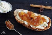 Brandada de bacalao con compota de manzana especiada a la sidra