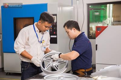 xưởng sản xuất xe máy điện Vinfast