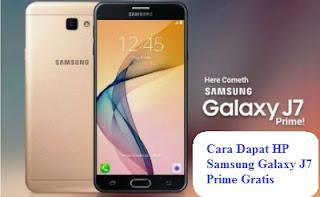 Samsung Galaxy J7 Prime Gratis
