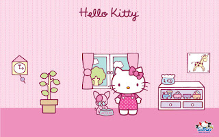 Papeles de Hello Kitty.