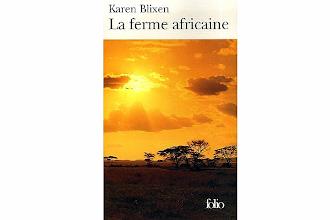 Lundi Librairie : La ferme africaine - Karen Blixen