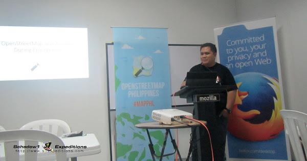 Ervin Malicdem on OSM Geoweek 2015 Manila - Schadow1 Expeditions