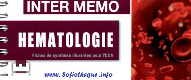 Télécharger | iNter mémo Hématologie PDF