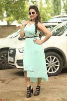 Manjusha in beautiful thin green gown At Jaya Janaki Nayaka le Logo Launch ~  Exclusive 125.JPG