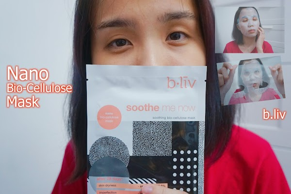 Nano Bio-Cellulose Mask from b.liv
