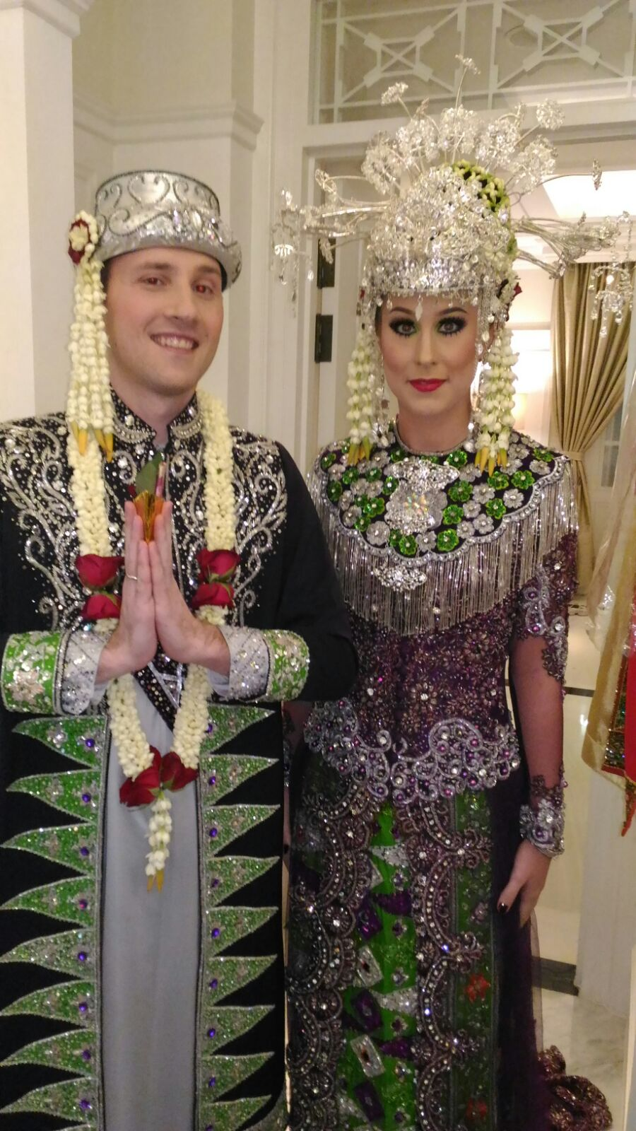 Foto riasan pengantin muslimah 10