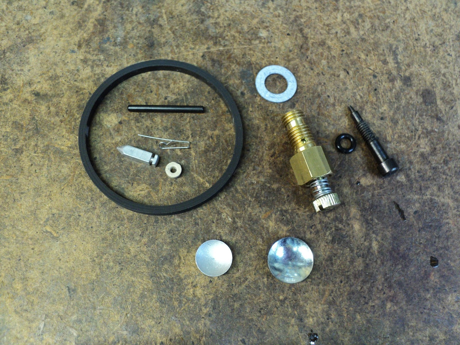 Rouge River Workshop: Tecumseh 1099 Carburetor -- Repair Kit