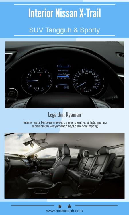 Desain Interior Nissan X-Trail