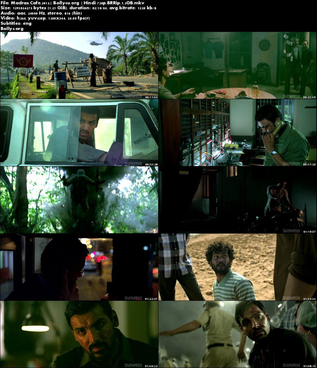 Madras Cafe 2013 BluRay Full Hindi Movie Download 720p