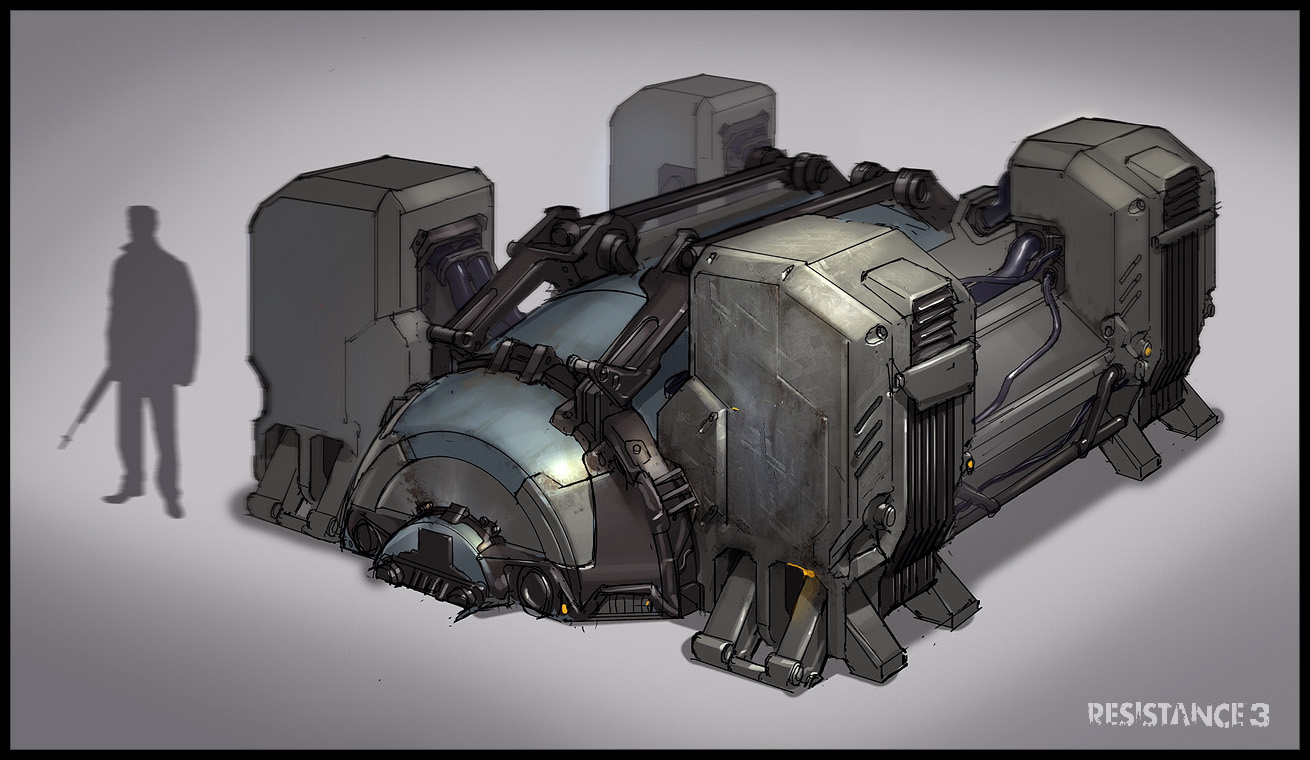 Mobile stealth generator | Command and Conquer Wiki ... |Conceptual Generator Drawing