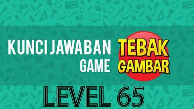 jawaban tebak gambar level 65