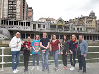 Students visited Spain to represent Sagetech Machinery