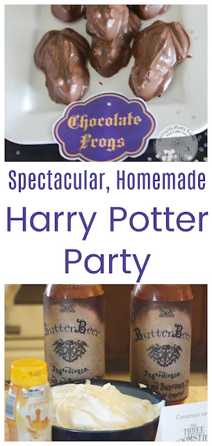 Spectacular, Homemade Hogwarts Party