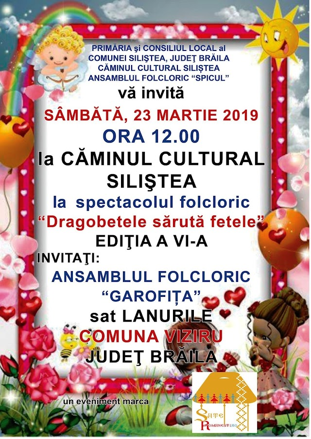 La Siliștea de Brăila, Festivalul folcloric Dragobetele sărută fetele