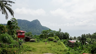 Sao Tome is wonderful with green mountains