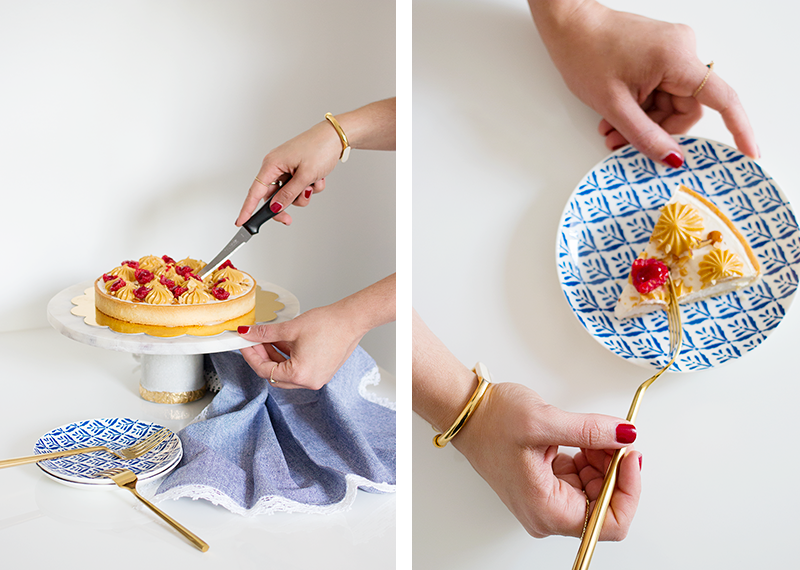 Marble Cake Stand DIY