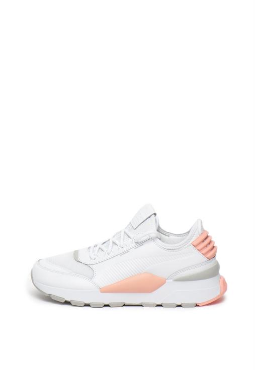 Pantofi sport de femei albi slip-on Puma RS Sound pret mic