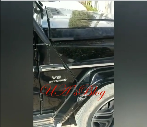 Over 20 Bullet Holes On My Jeep – Dino Melaye Attacked In Kogi State (Photos/Video)