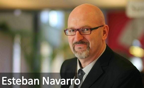 El exitoso escritor Esteban Navarro