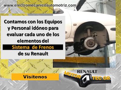 Mantenimiento de Frenos Renault