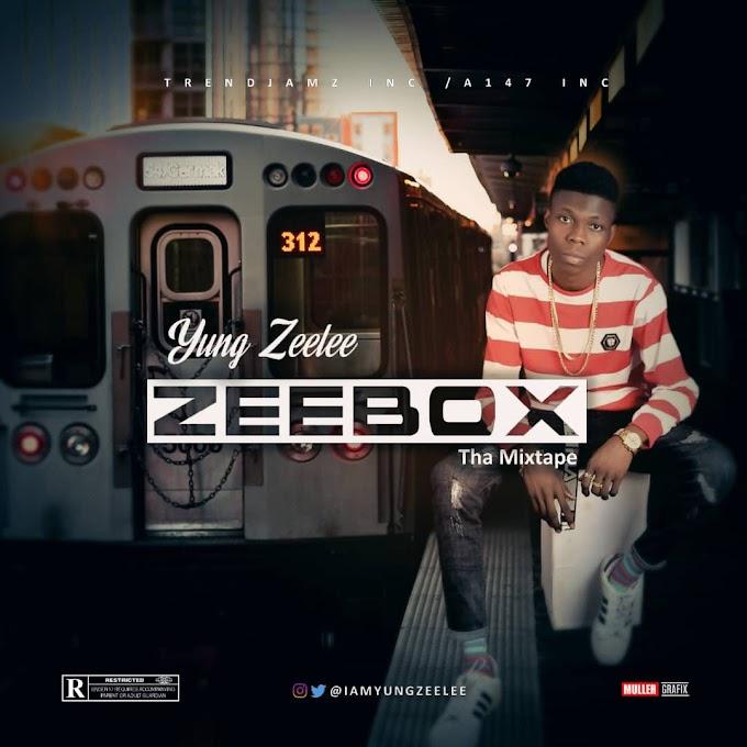 "E! News: Yung Zeelee Unveils Album Cover Art & Tracklist Ahead Of ""ZeeBox"" Release | @Iamyungzeelee"