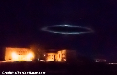 UFOs 'Buzz' City of Ulan-Ude - October 2015