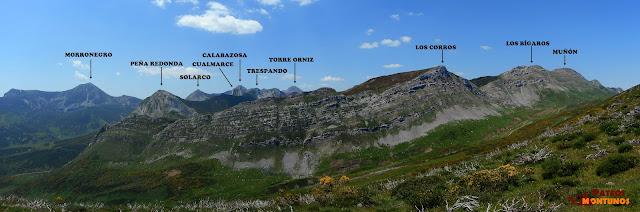 Panorámica desde el Alto de Las Navariegas