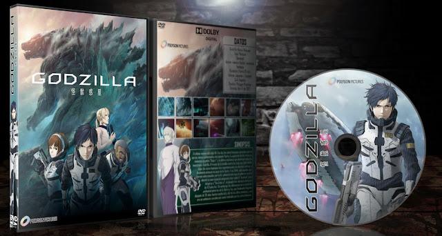 Godzilla Movie: Kaijuu Wakusei | Cover DVD |