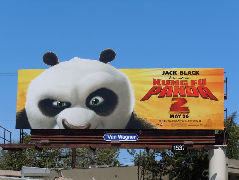 Kung Fu Panda 2 face billboard