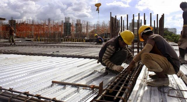Despencando! Emprego na construção civil cai pelo 26º mês em novembro