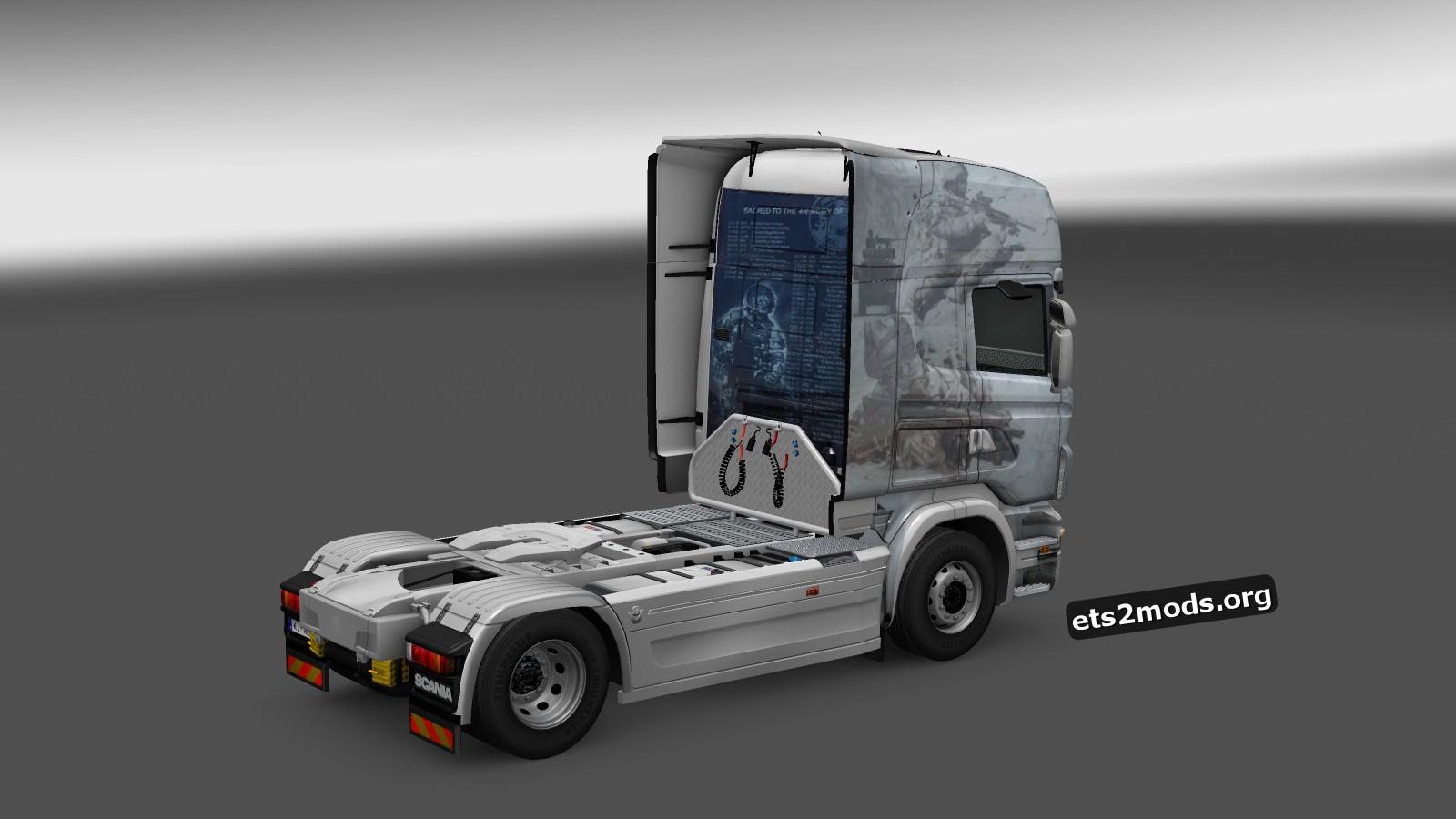 Fallen Heroes Skin for Scania RJL