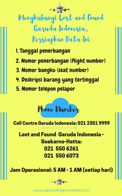 lost and found garuda indonesia