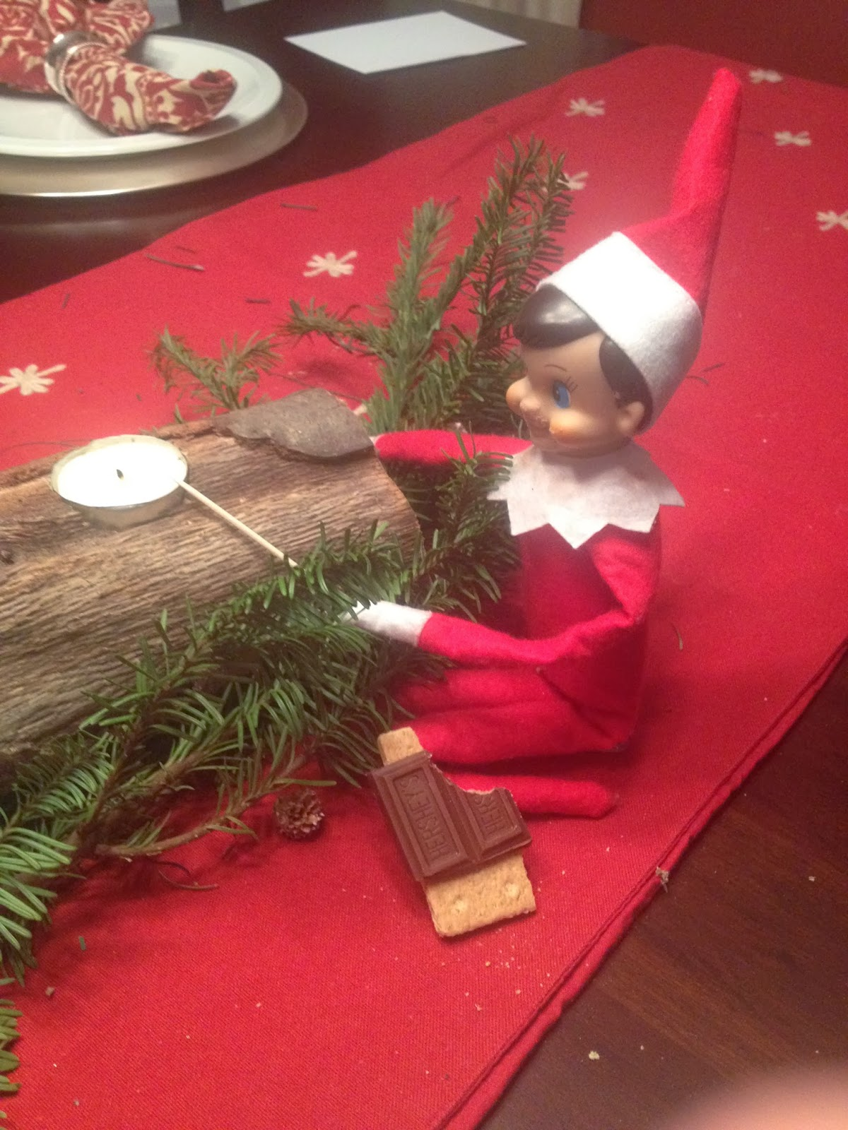 Two It Yourself Elf On The Shelf Elf Spiration For Busy