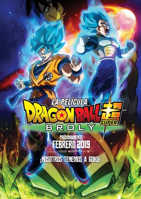 Dragon Ball Super: Broly adelanta su estreno en España al 1 de febrero.