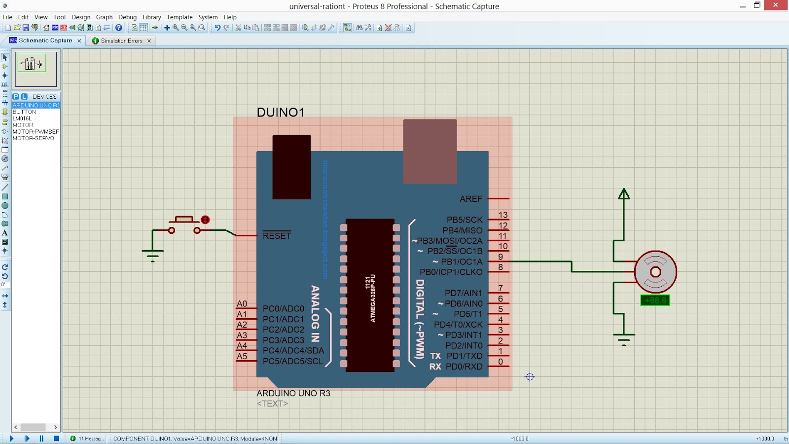 EMERGING TECHNOLOGIES: ARDUINO AND SERVO MOTOR INTERFACING