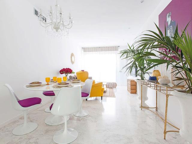 un interior mediterraneamente chic chicanddeco