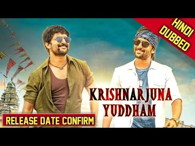 Krishnarjuna Yudham Hindi Dubbed 720p HDRip Full Movie Download watch desiremovies world4ufree, worldfree4u,7starhd, 7starhd.info,9kmovies,9xfilms.org 300mbdownload.me,9xmovies.net, Bollywood,Tollywood,Torrent, Utorren