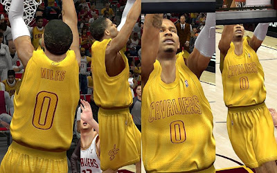 NBA 2K13 Cleveland Cavaliers Big Color Jersey Patch