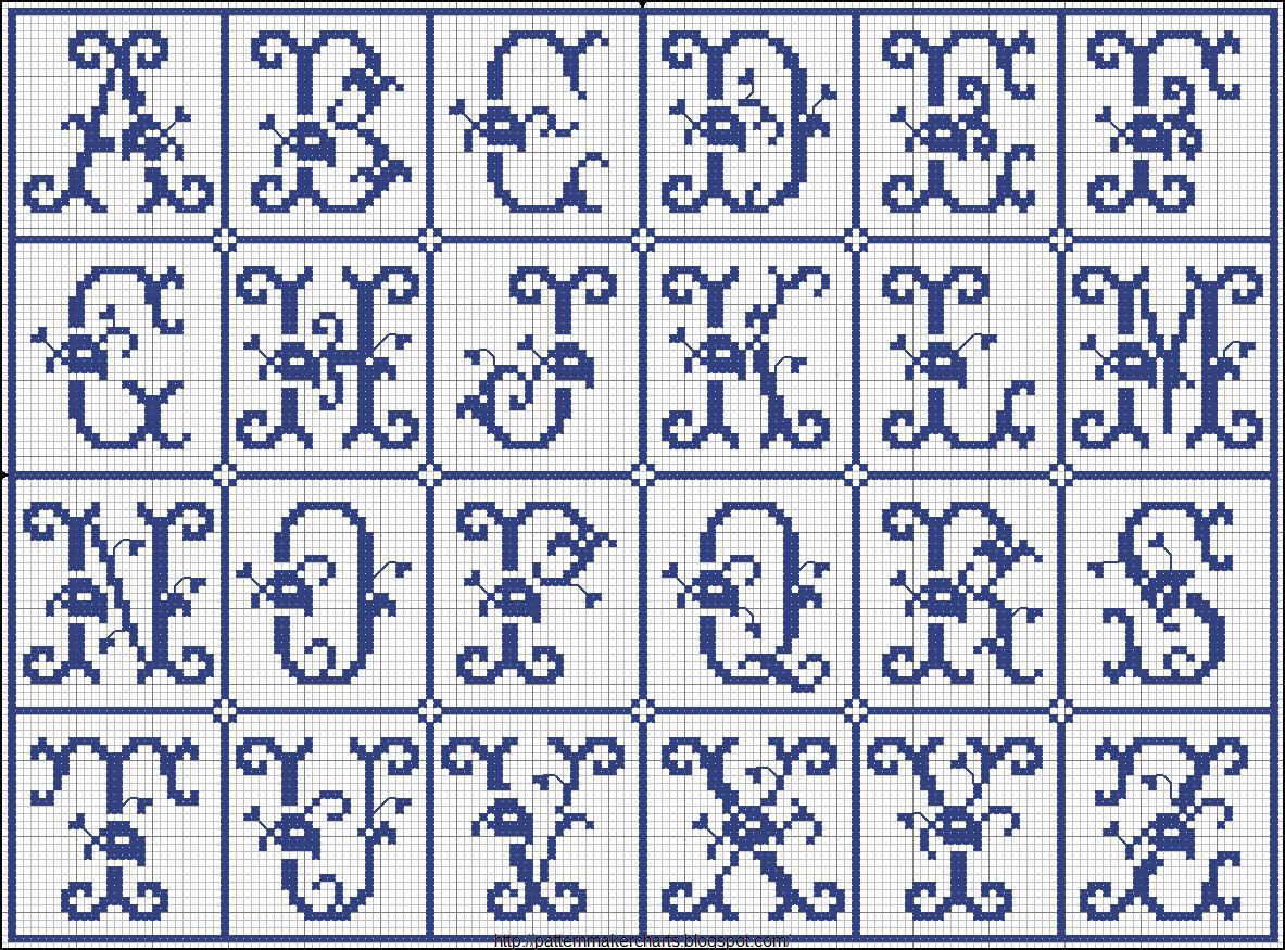 Pattern maker for cross stitch