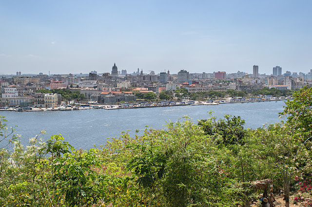 Vue sur La Havane depuis les hauteurs de Casablanca